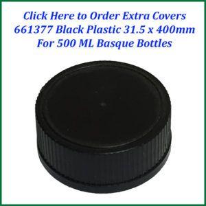 black cap for 500 basque-750