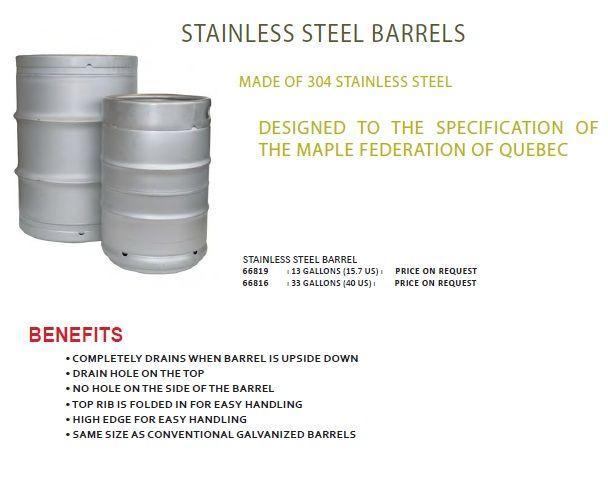 SS Barrel