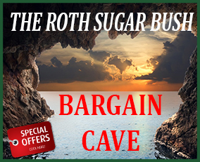 home page - bargain cave specials