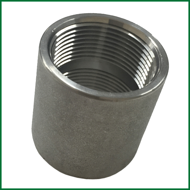 Stainless Steel Threaded Couplers : Stainless steel threaded couplings roth sugar bush
