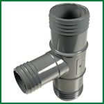 Tee PVC-INS-INS-INS-150