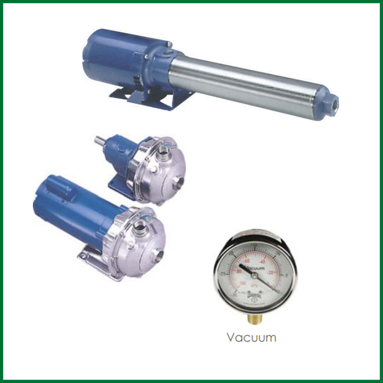 Pump - Gauges & Pressure