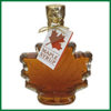 glass maple leaf 250 mlmaple syrup-150