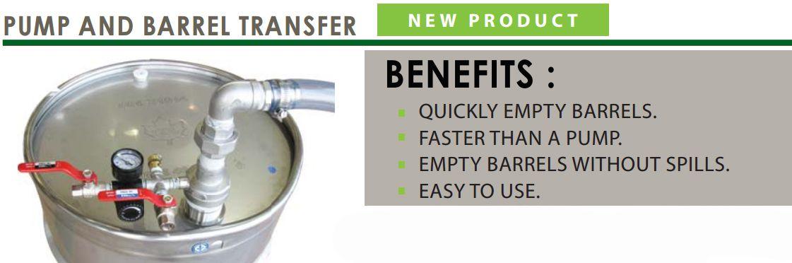barrel transfer