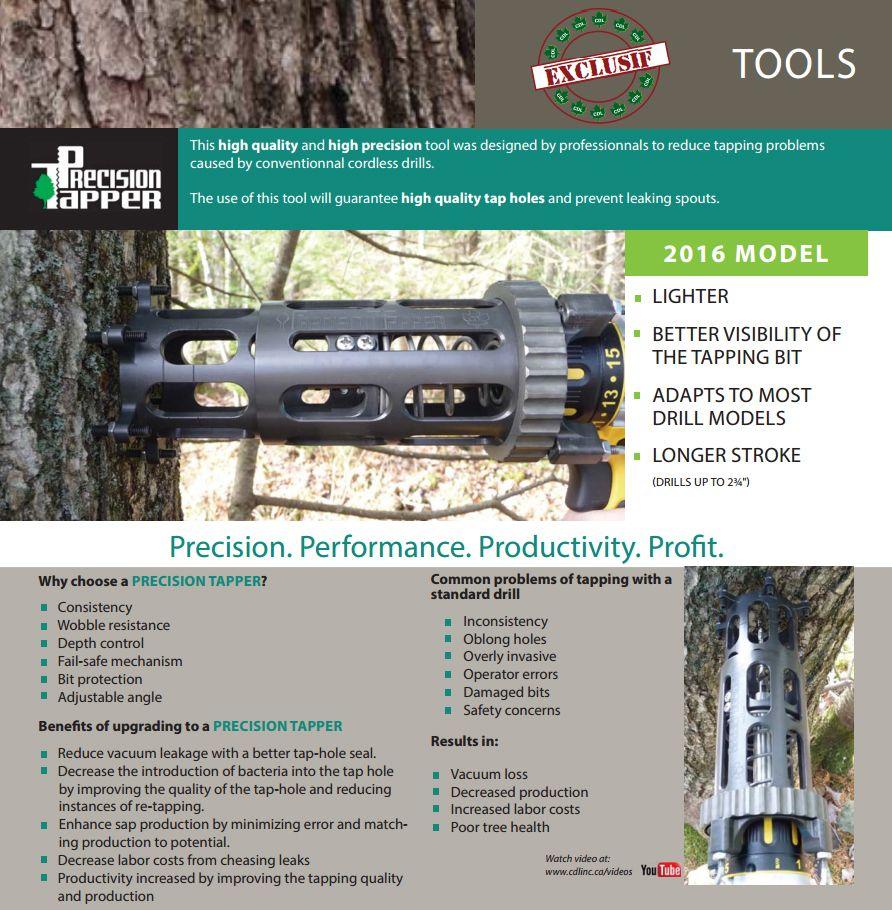 precision tapper info
