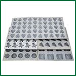 rubber mold-assorted designs-150