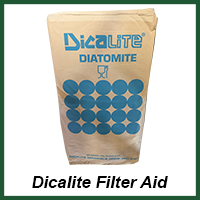dicalite filter aid