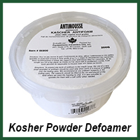 kosher powder defoamer