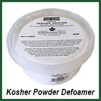 kosher powder defoamer