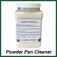 powder pan cleaner