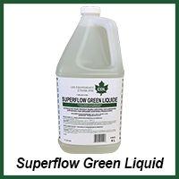 superflow green liquid organic