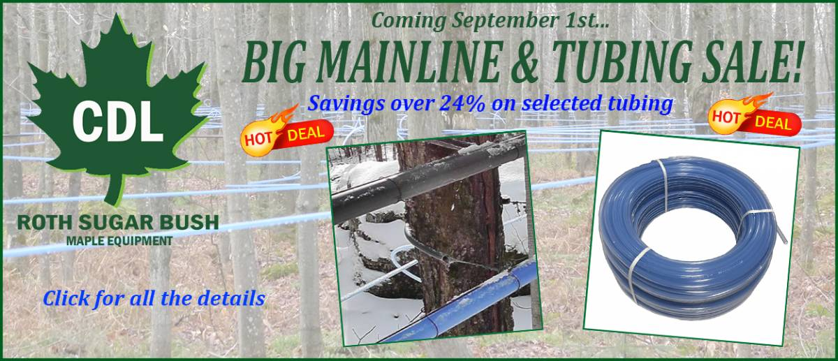 2016 SEPTEMBER mainline and tubing sale-final
