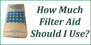 how-much-filter-aid-should-i-use-dicalite