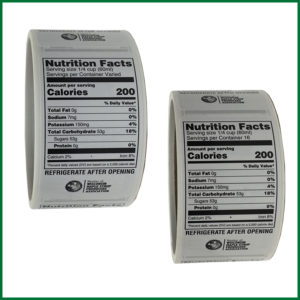 Labels for Nutrition