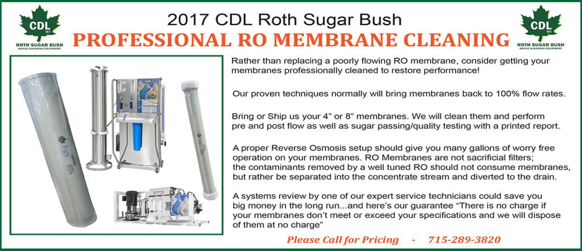 2017 clean ro membranes
