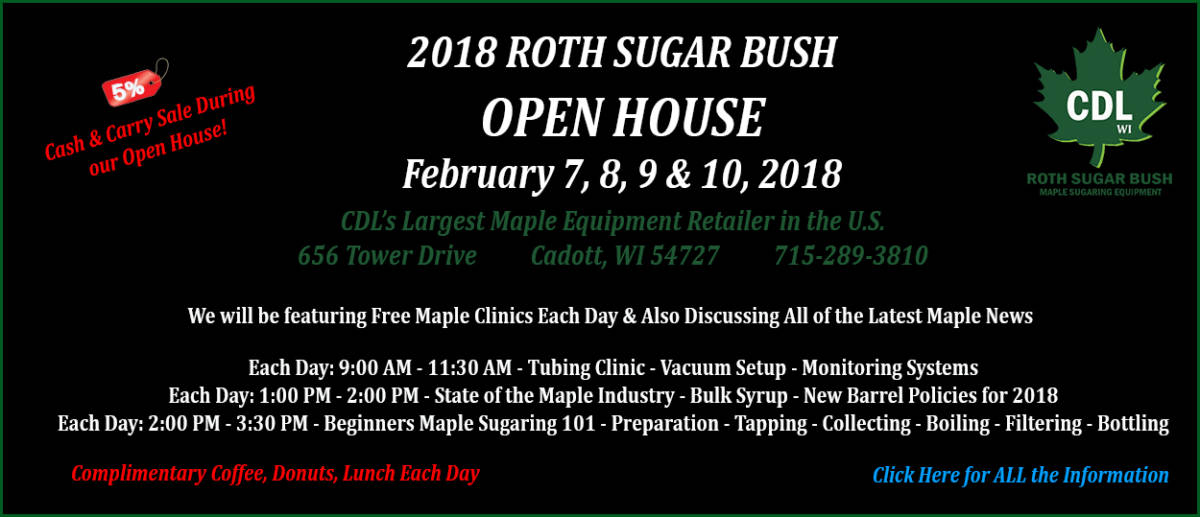 2018 roth sugar bush open house-WEBSITE