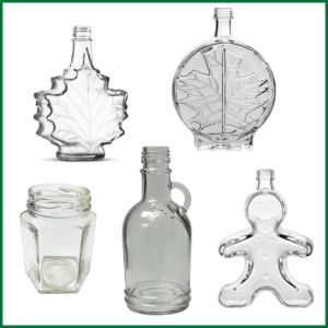Glass Ornamental Bottles