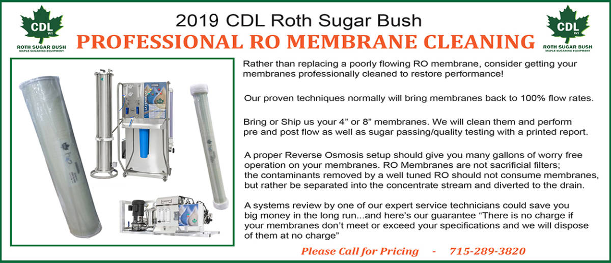 2019 membrane cleaning slider