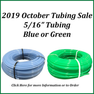 2019 October Tubing Sale
