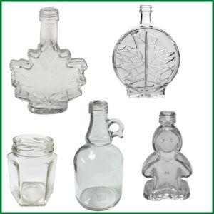 Glass Ornamental Bottles