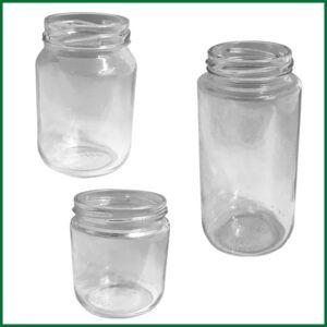 Glass - Round Jars